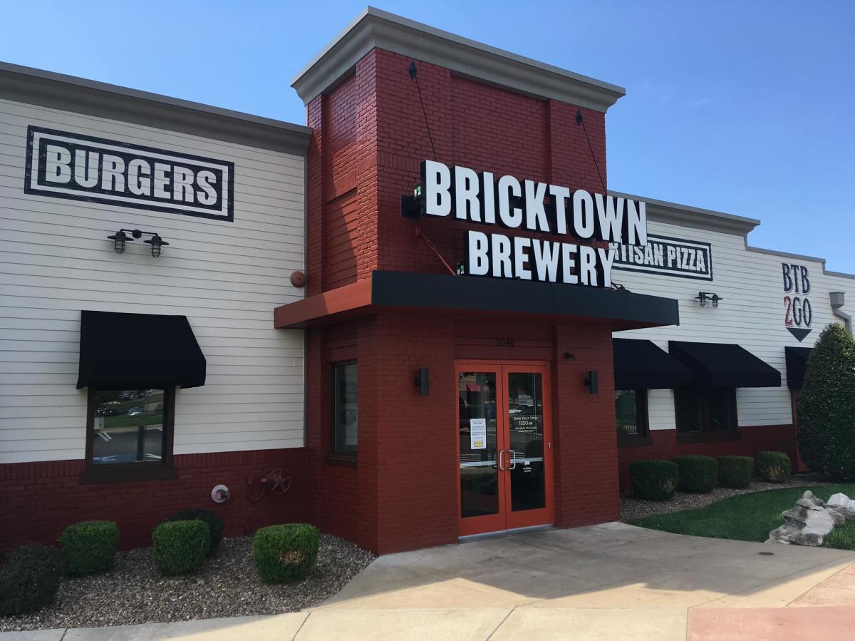 Exterior Shot of Bricktown Brewery