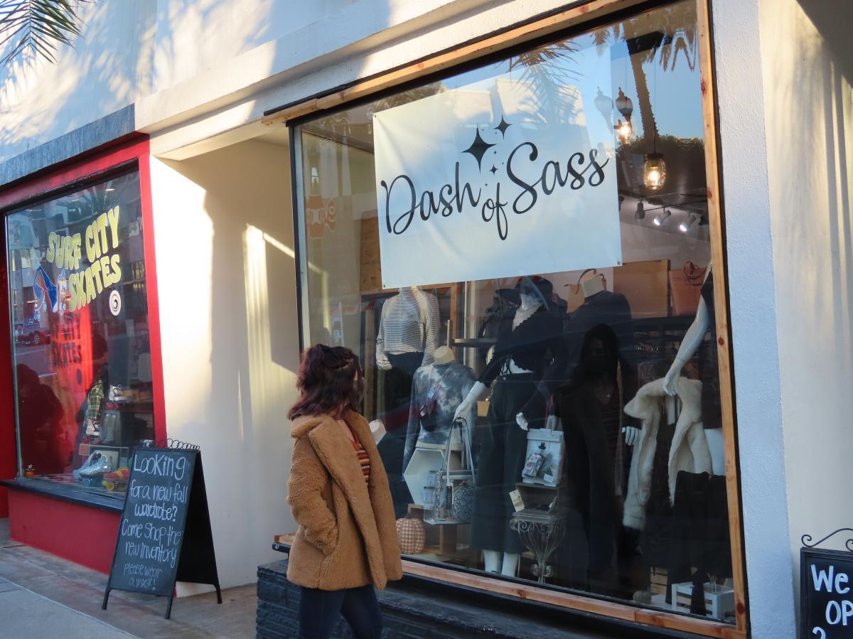 A Dash of Sass in Huntington Beach