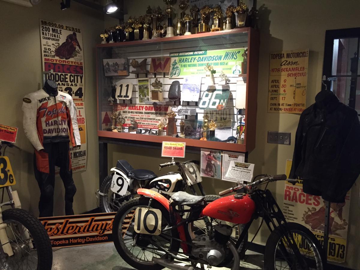 Yesterday's Motorcycle Museum - Historic Harley-Davidson in Topeka, KS