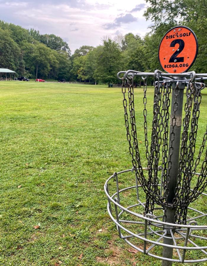 Tamanend Park Disc Golf Course