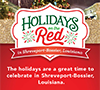 preview image of Shreveport-Bossier Holidays on the Red rack card