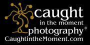 Caught in the Moment Photography Logo
