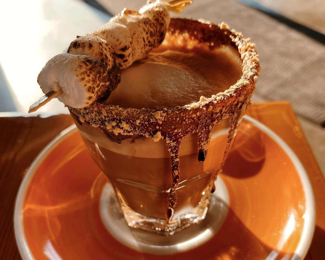 S'moretade from Roosevelt Coffeehouse
