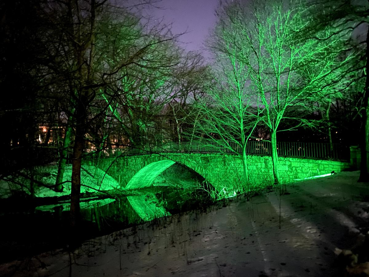 Lights in the Emerald Necklace