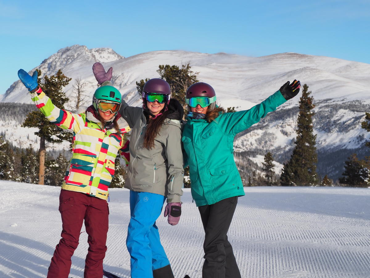 Group Skiing at Eldora Mountain Resort