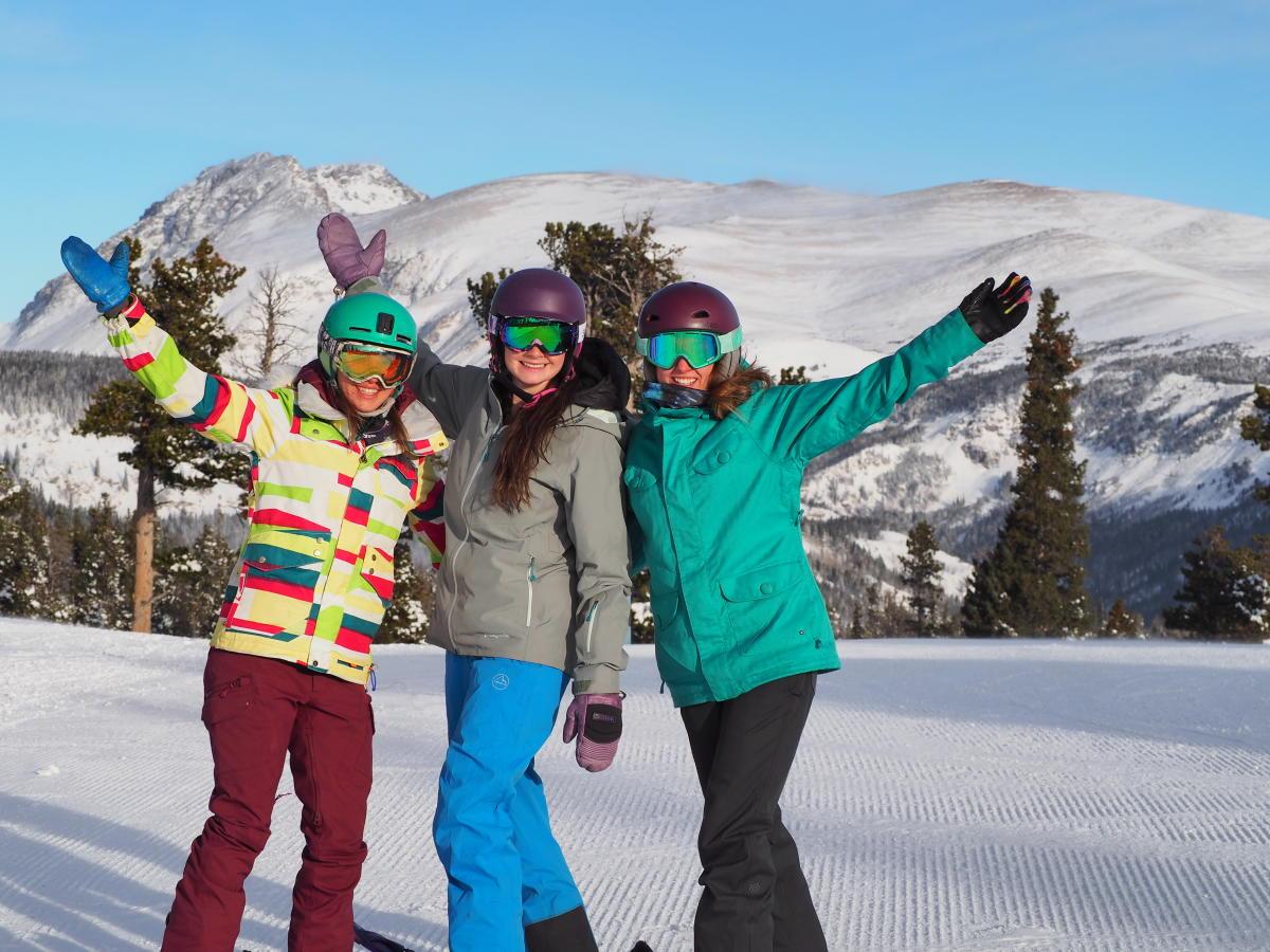 Group Skiing at Eldora Mountain Resort
