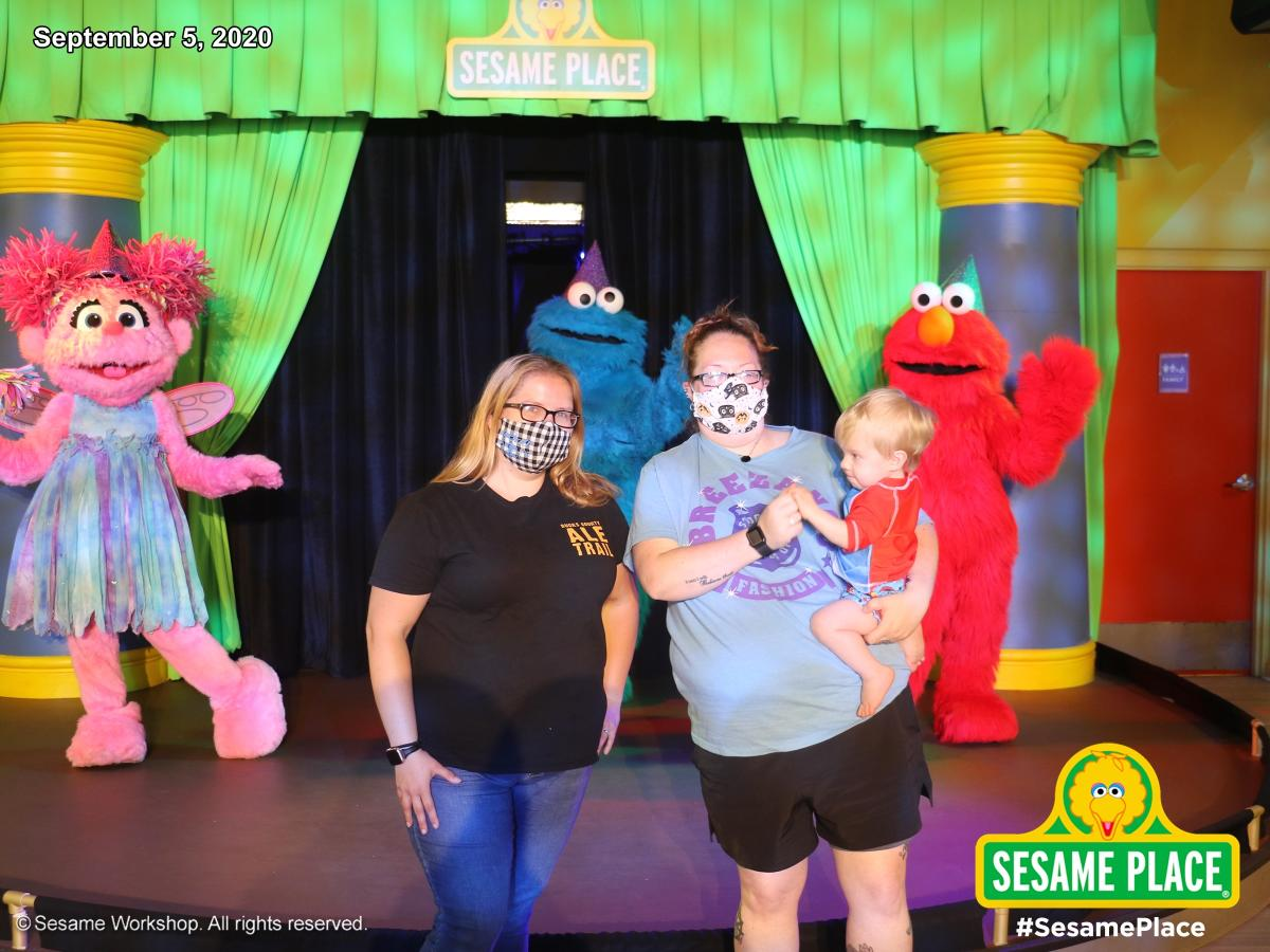 Sesame Place masks