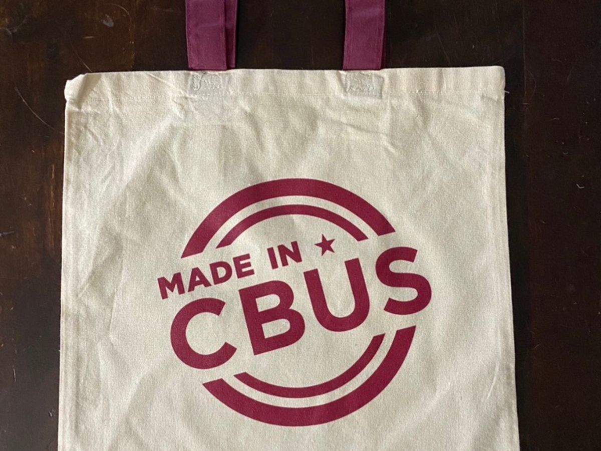 Shop at four stops on the Made in Cbus Trail and receive a tote bag for a prize.