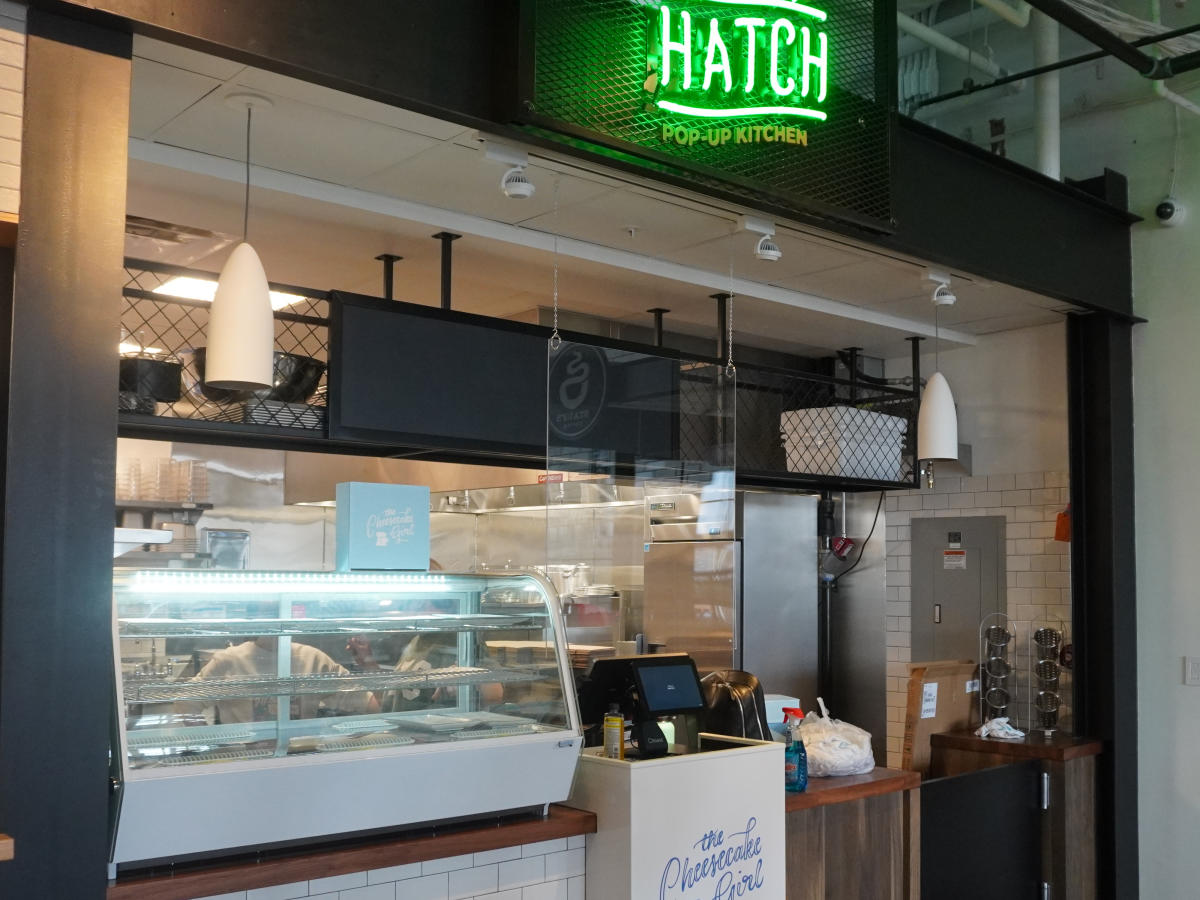 Hatch rotating space at Budd Dairy Food Hall