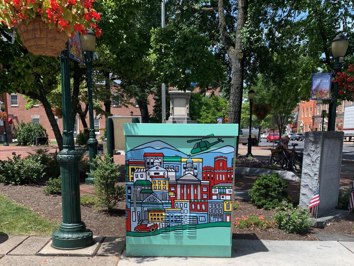 Carlisle Painted Electric Boxes