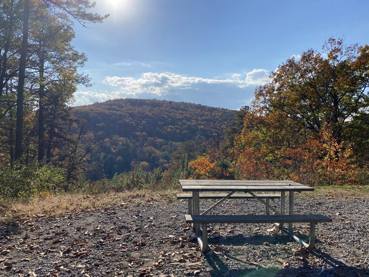 Kings Gap Picnic Area in the Fall