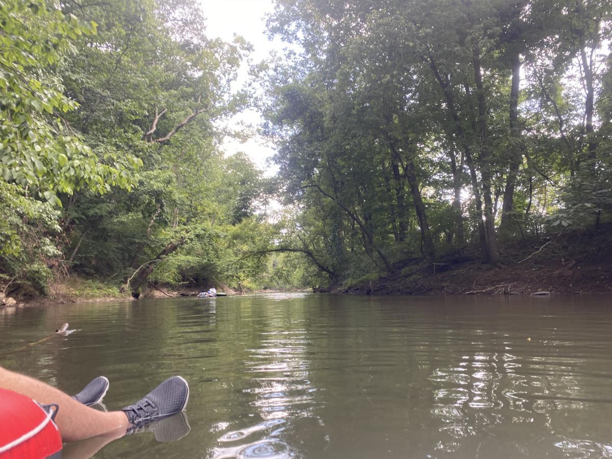 Tubing on the Yellow Breeches Creek