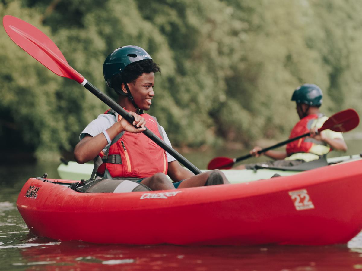 Kayaking with Adventure Explorations Guided adventures