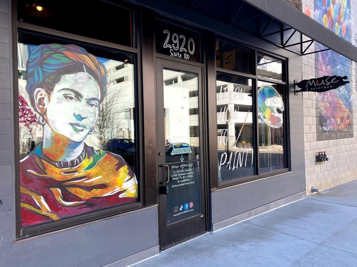 Frieda Kahlo Muse Paintbar