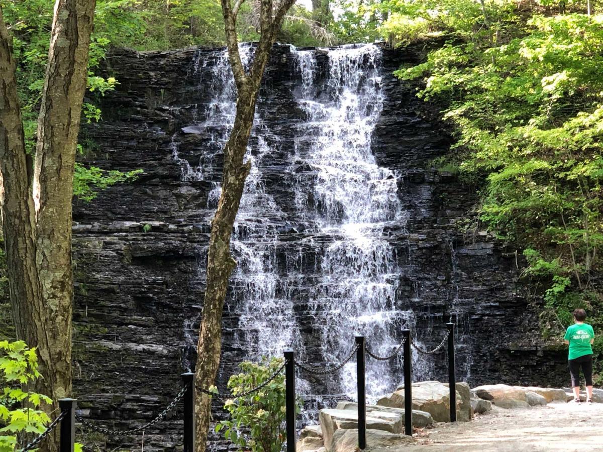Waverly Glen Waterfall in Tioga County