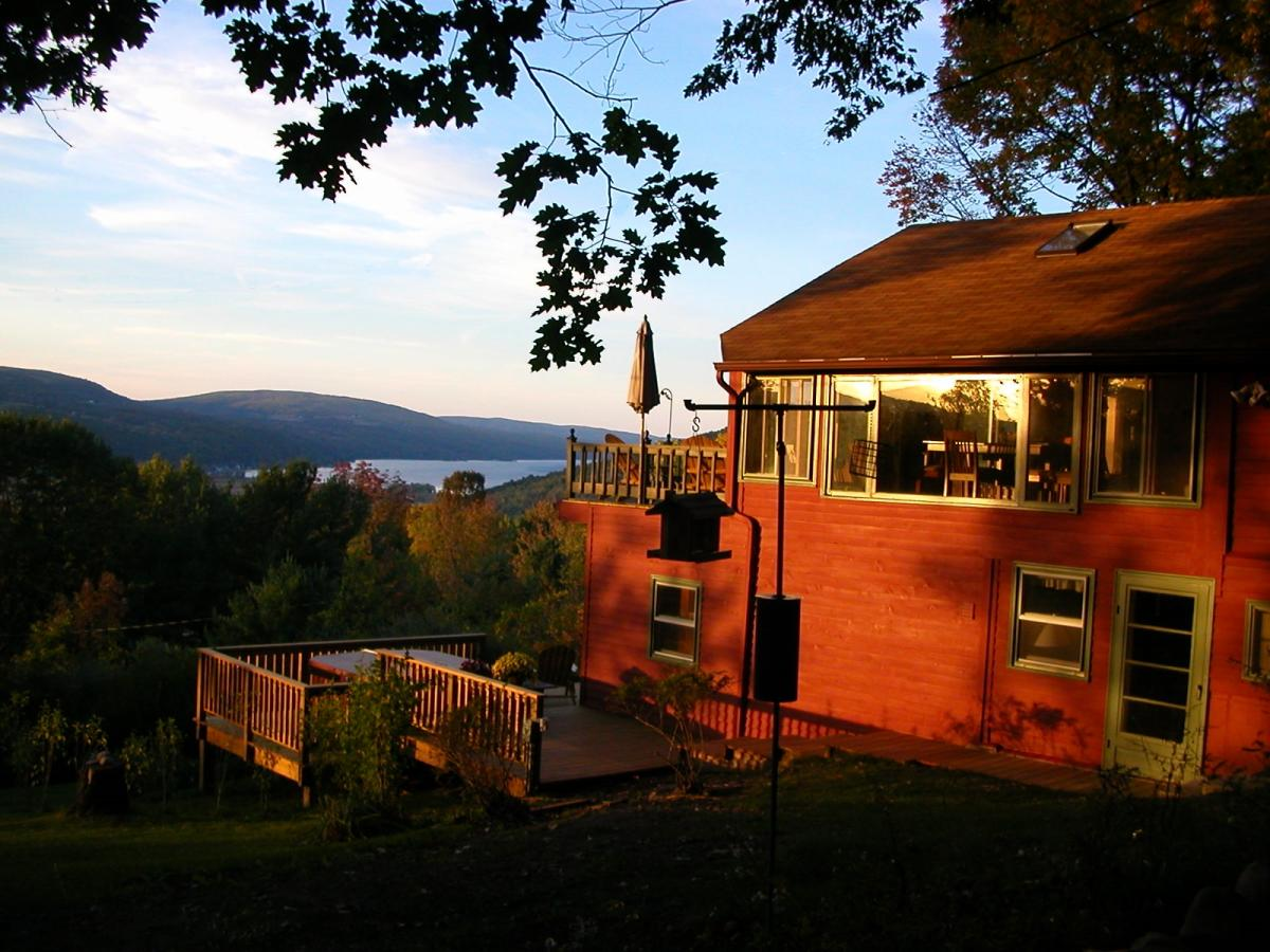 The Quiet Place Naples Chalet overlooking Canandaigua Lake