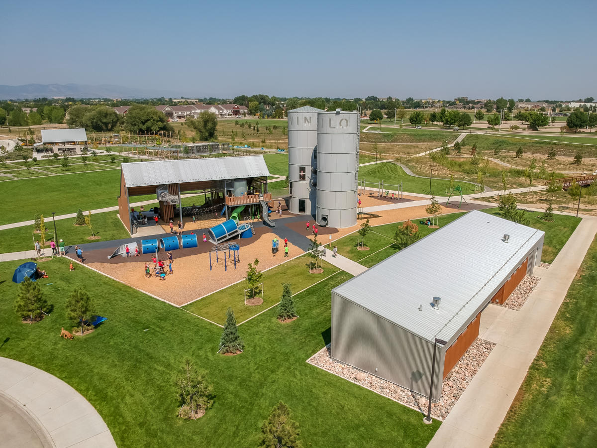 Twin Silo Park Overview