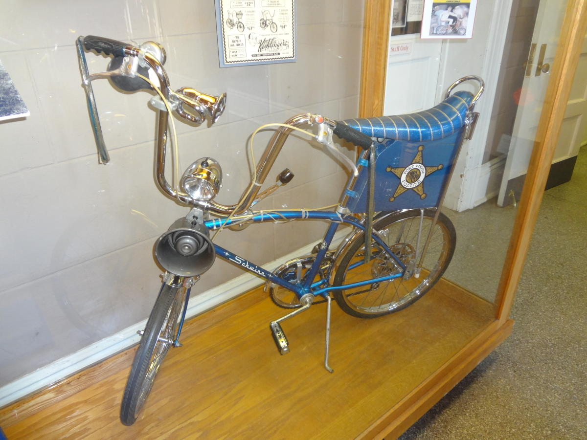 Fort Wayne Police Bicycle at the History Center