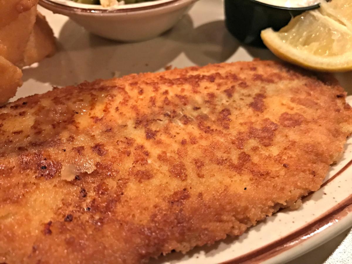 halls fish dinner