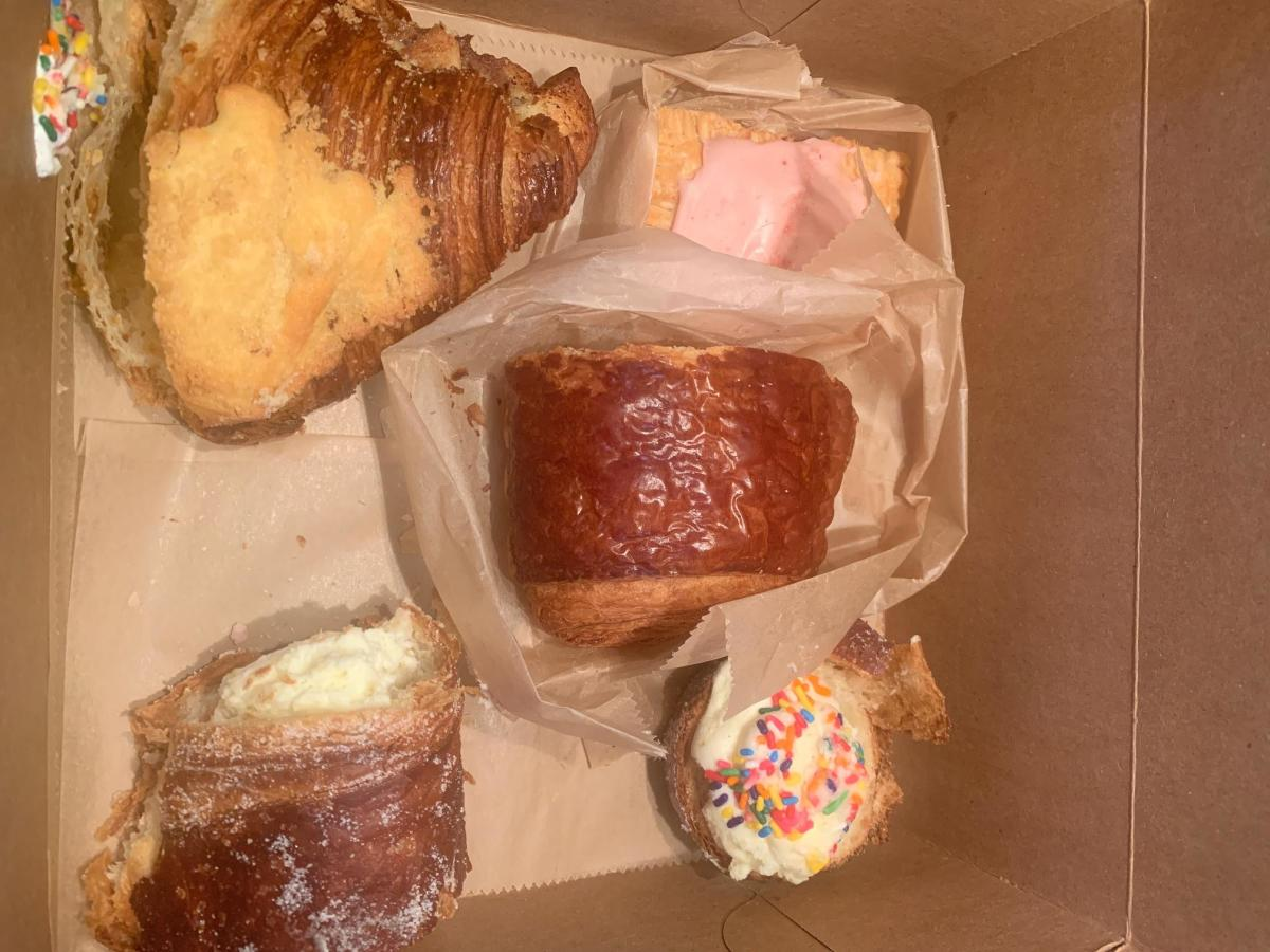 Assorted pastries from Deb's Artisan Bakehouse