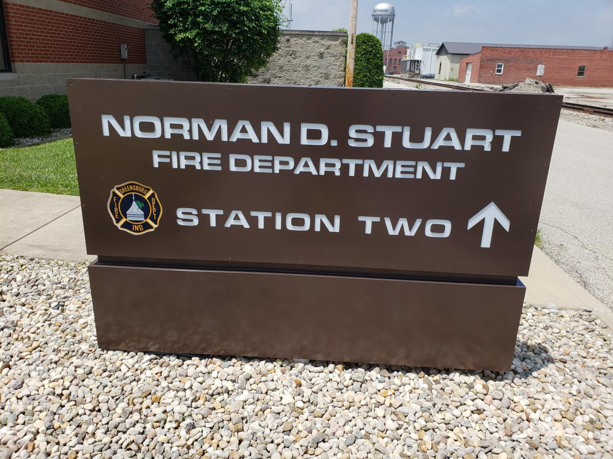Station 2 Sign