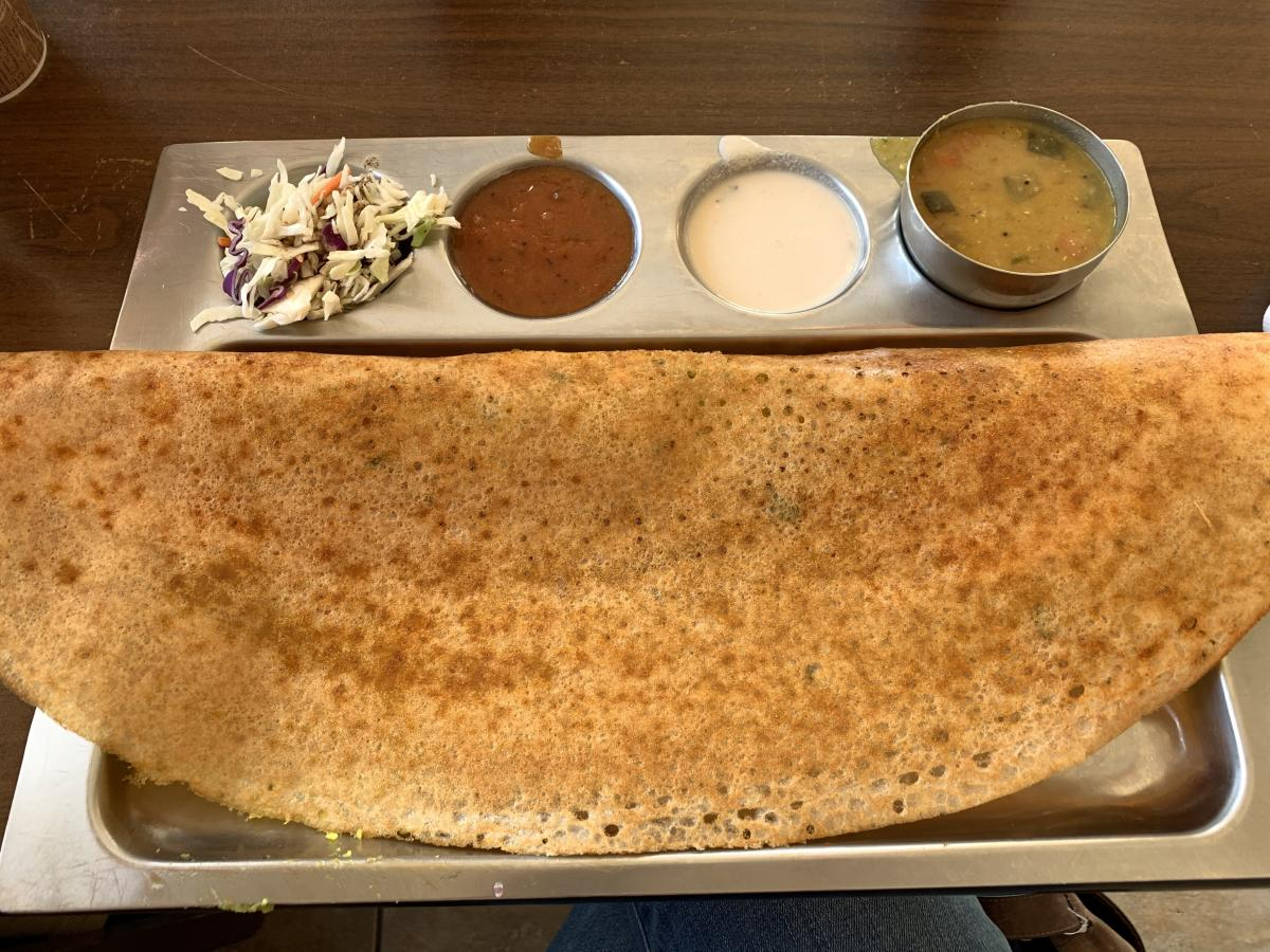 Dosa Crepe Cafe - Dosa Crepe Pictured