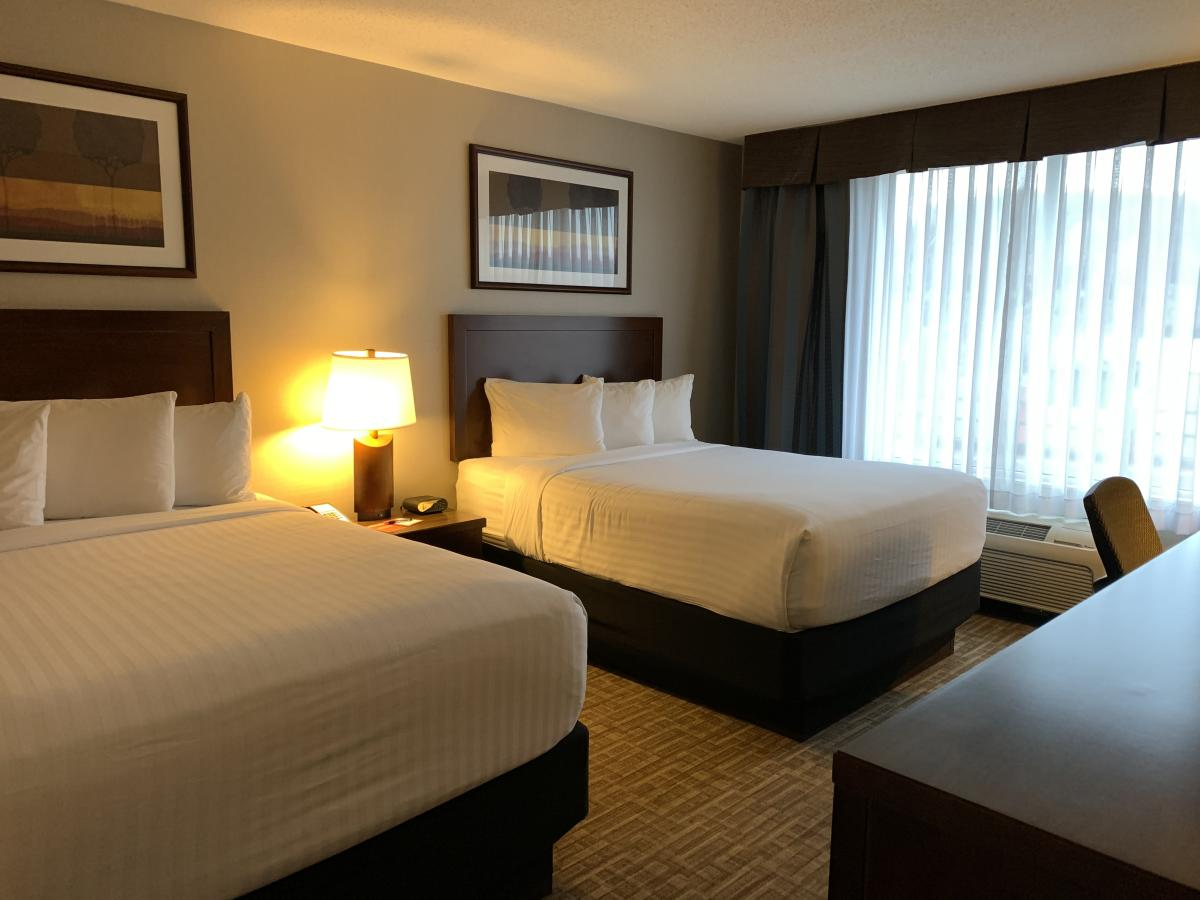 Queen Suite Room at the Kanata Hotel Kelowna