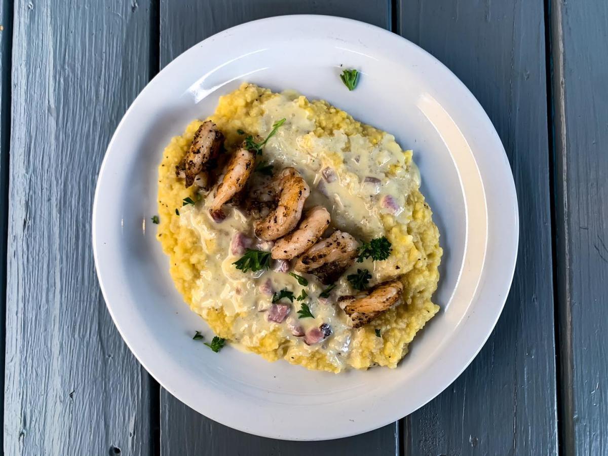Dish from Hideaway on Lee in Lafayette, LA.