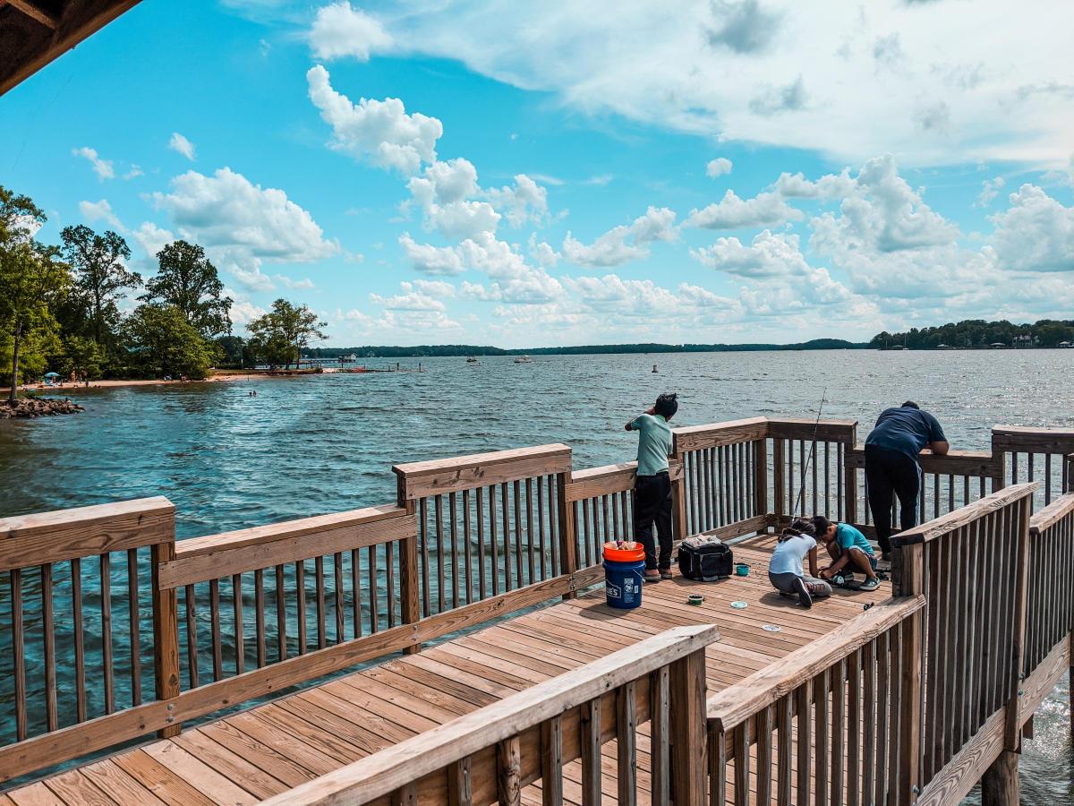 Ramsey Creek Park Pier Fishing
