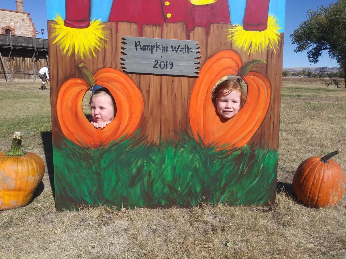 fall fun pumpkin walk