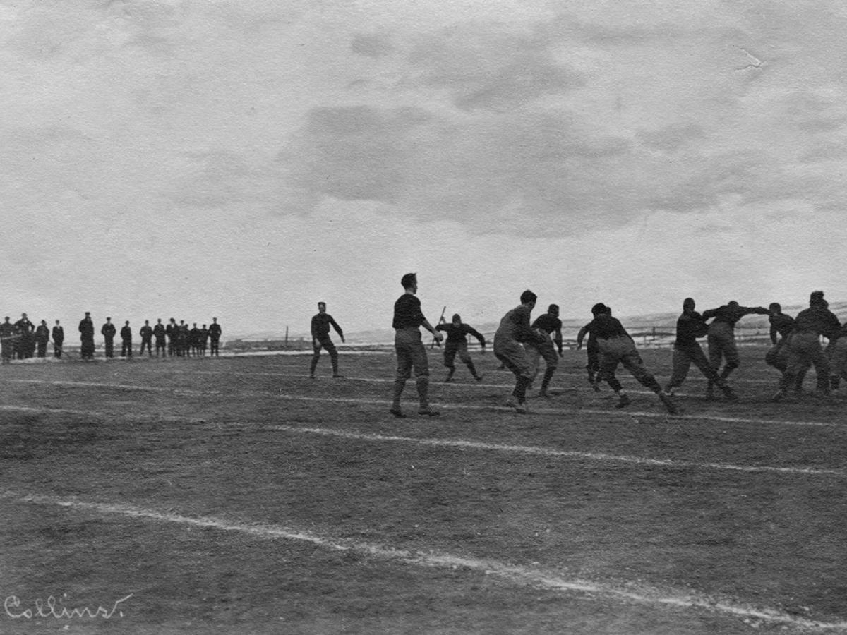 Wyoming playing Aggies - 1910