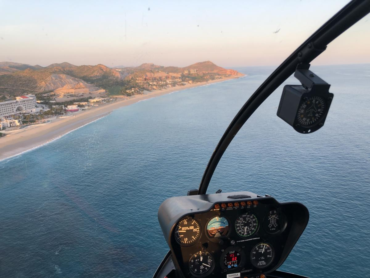Fly Cabo - helicopter