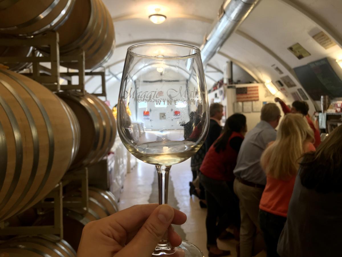 Maggie Malick Wine Caves