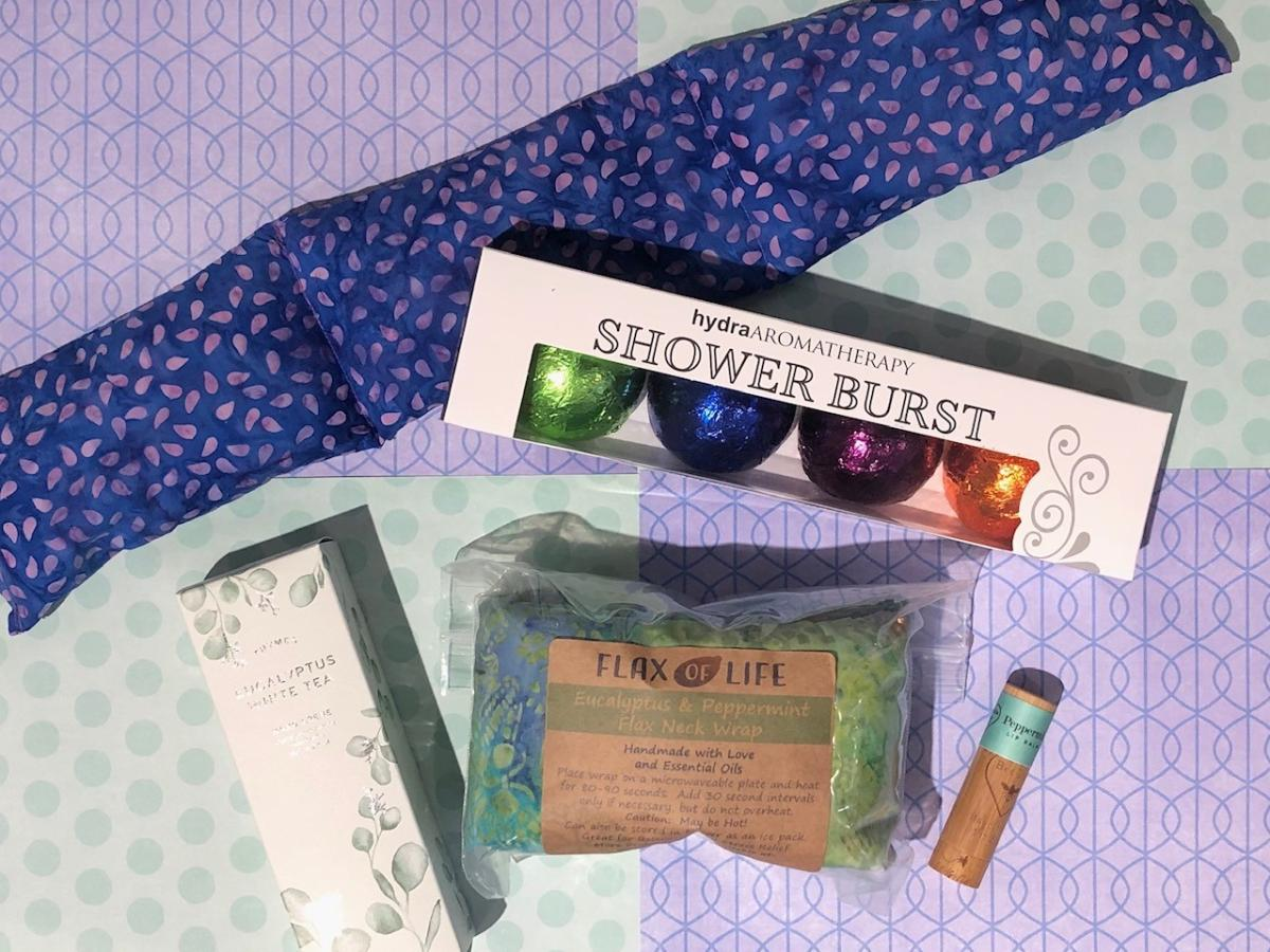 A self-care kit from Little Luxuries