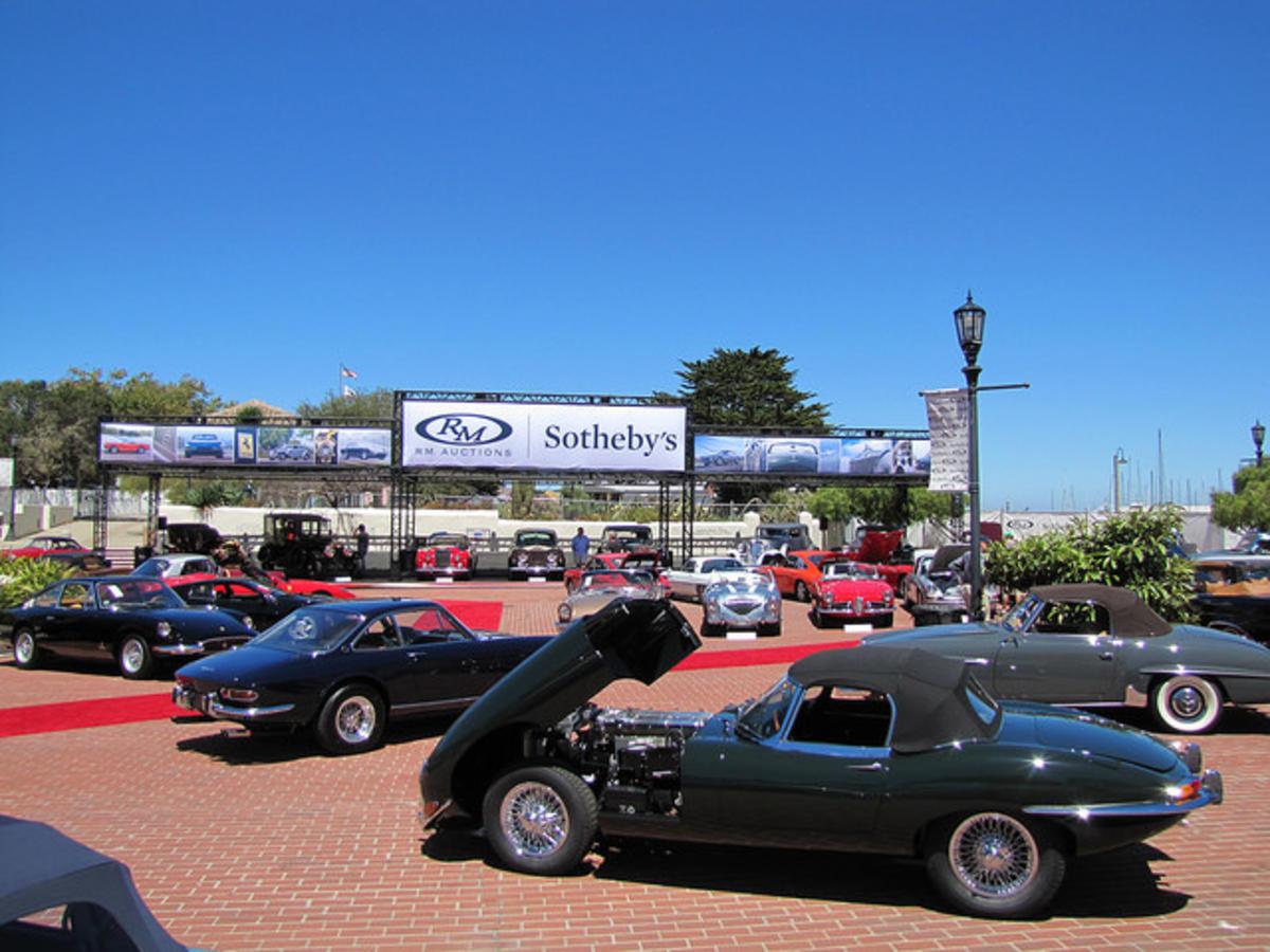 Monterey Car Week Auction