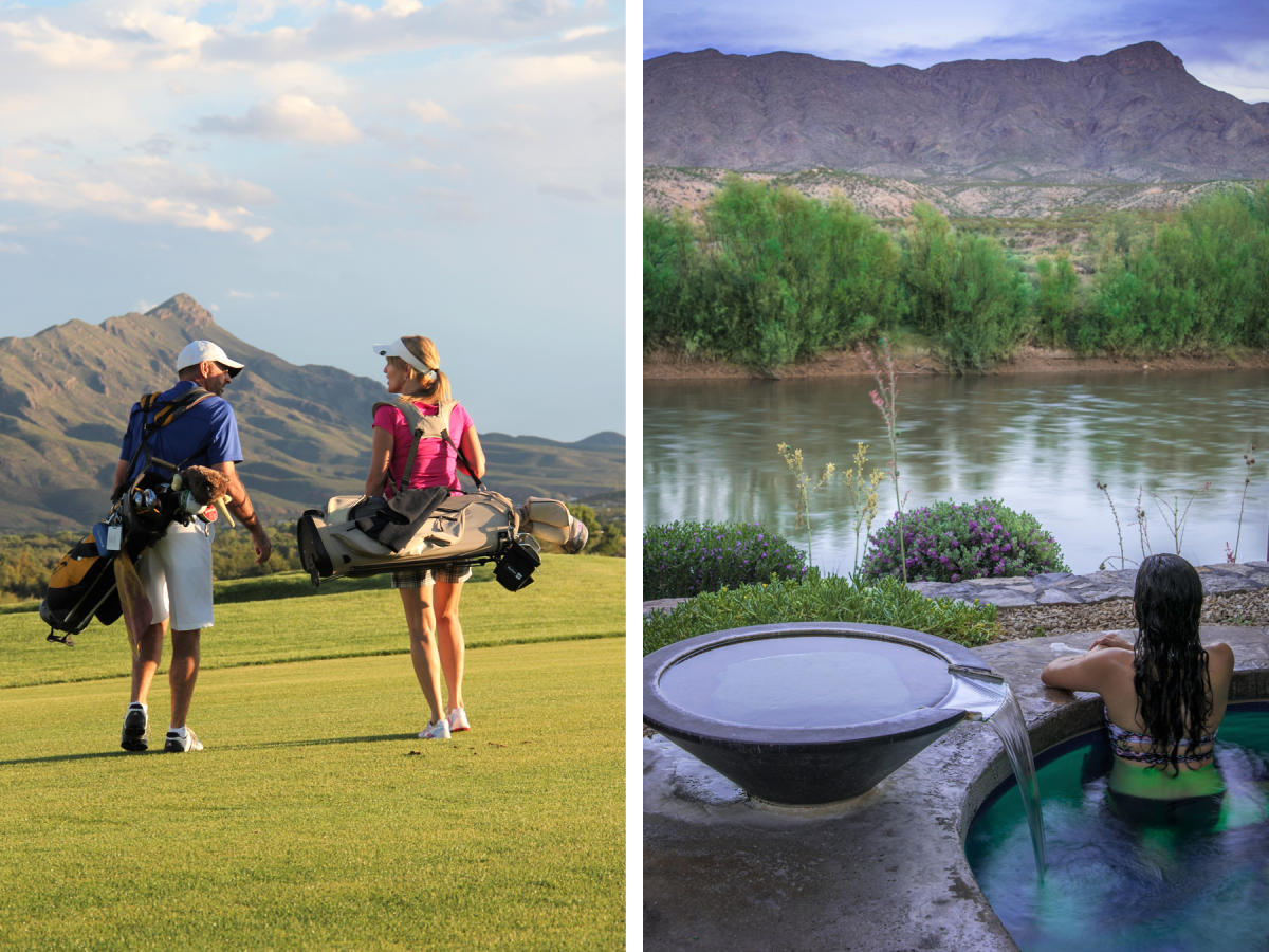 Sierra del Rio Golf Course and Riverbend Hot Springs