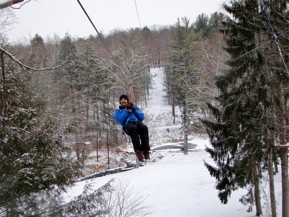 Winter Adventure in the Pocono Mountians