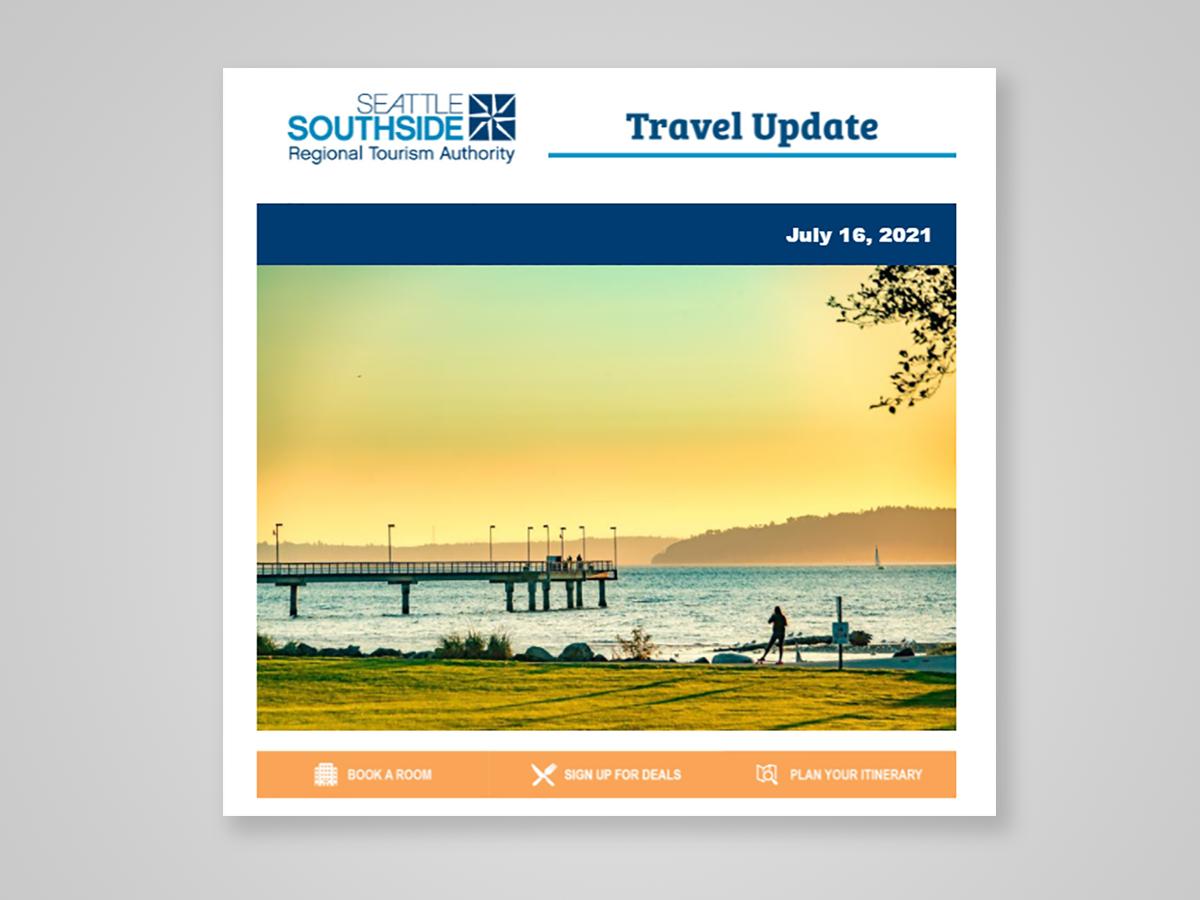 Seattle Southside Travel Update Newsletter