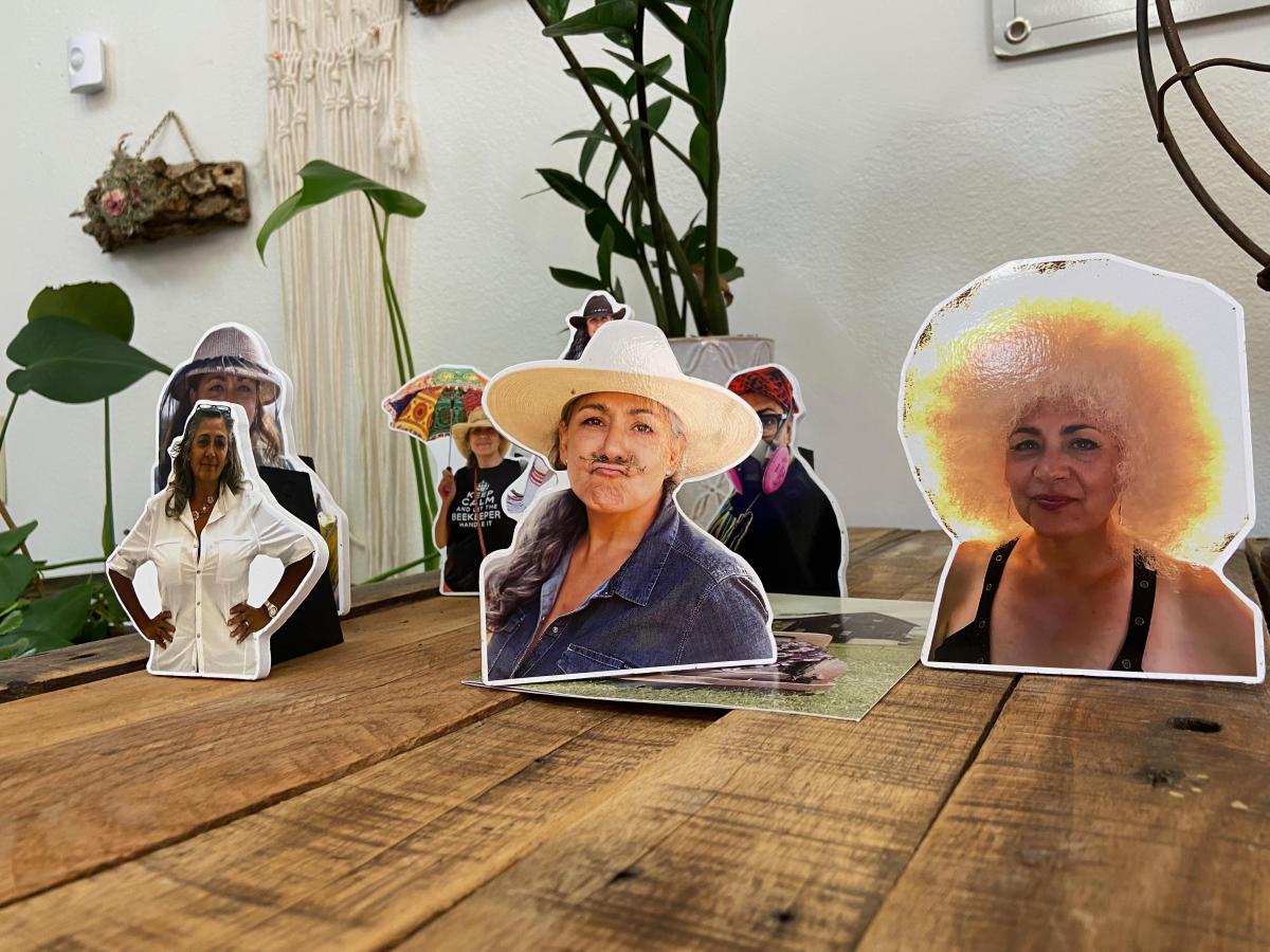 Photos of Martha Van Inwegen, owner of Life Elements