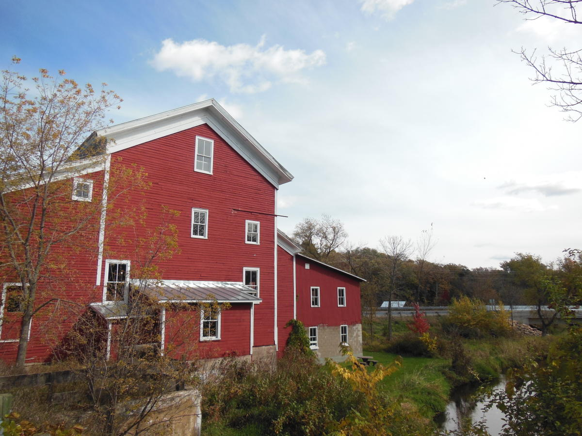 Rising Star Mill in the Stevens Point Area along the Tomorrow River