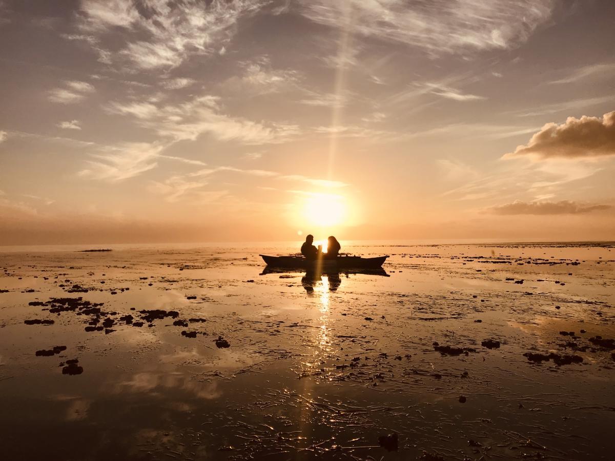 Sunset Couple Bayou Adventure