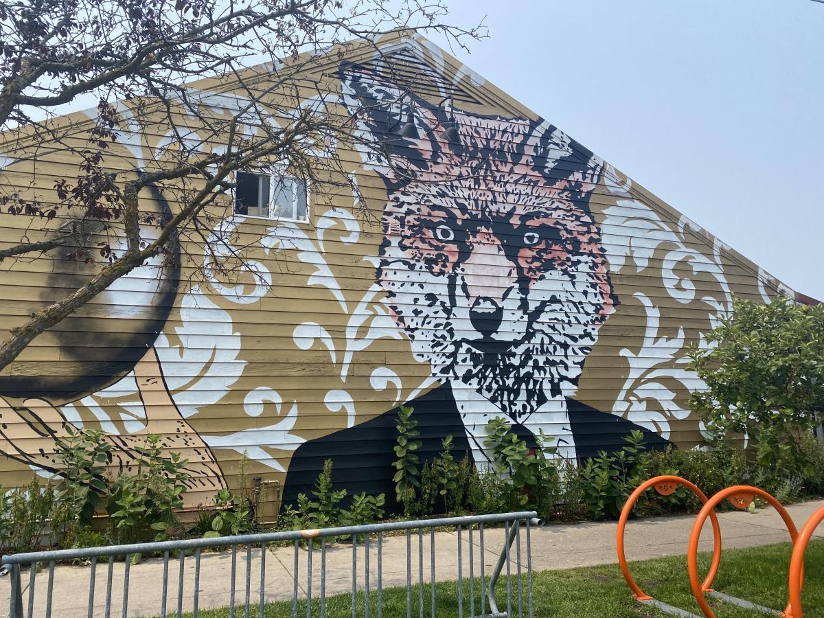 The Fox Mural