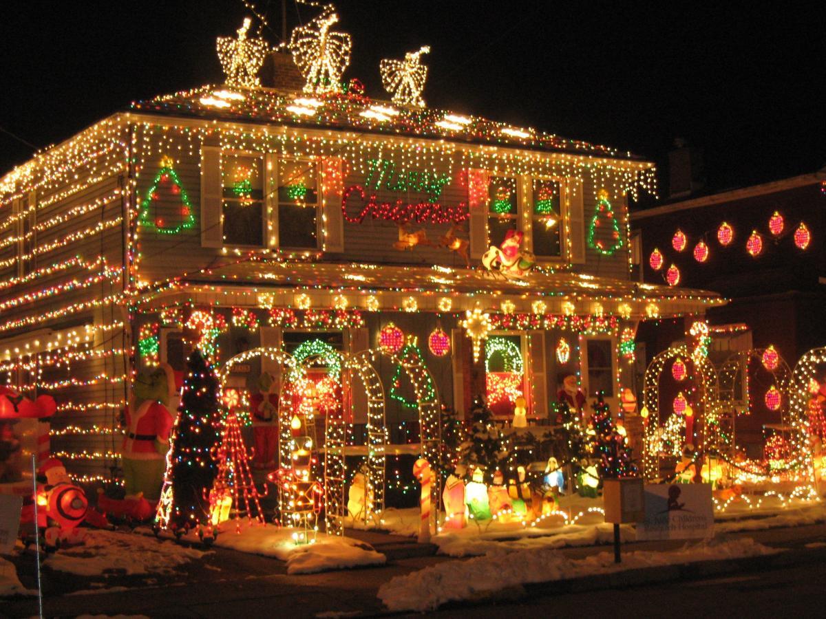 Stock Christmas Lights
