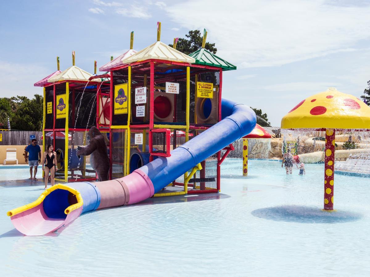 Children's Area at Jungle Rapids Family Fun Park