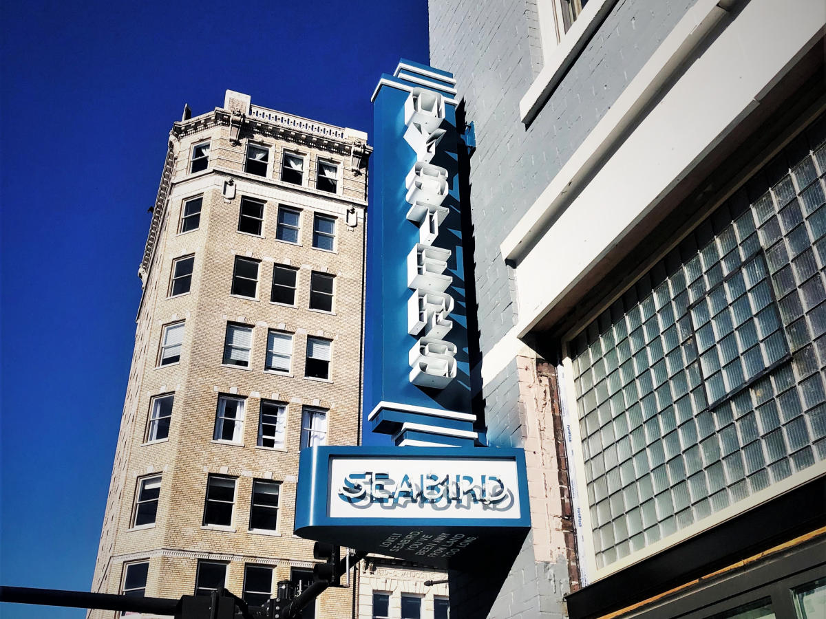 Seabird Restaurant in Downtown Wilmington NC