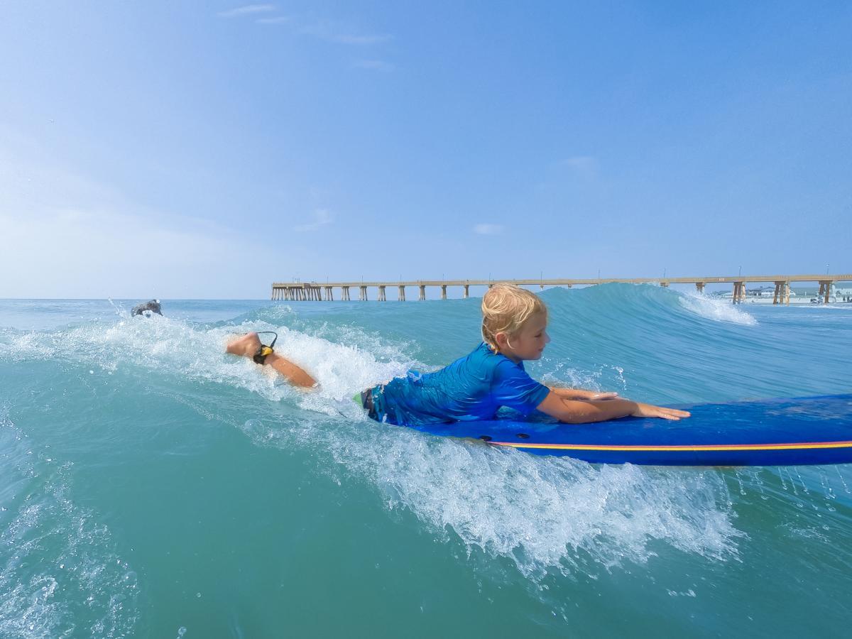 4x3 WB Surf Kid