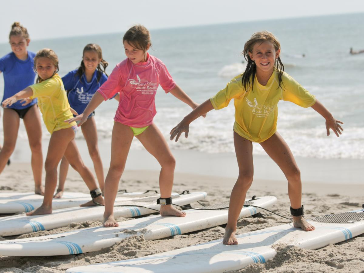 Surf lessons with Tony Silvagni Surf School