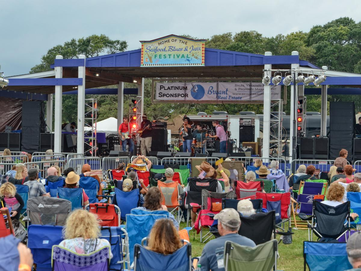 4x3 Seafood, Blues & Jazz Festival
