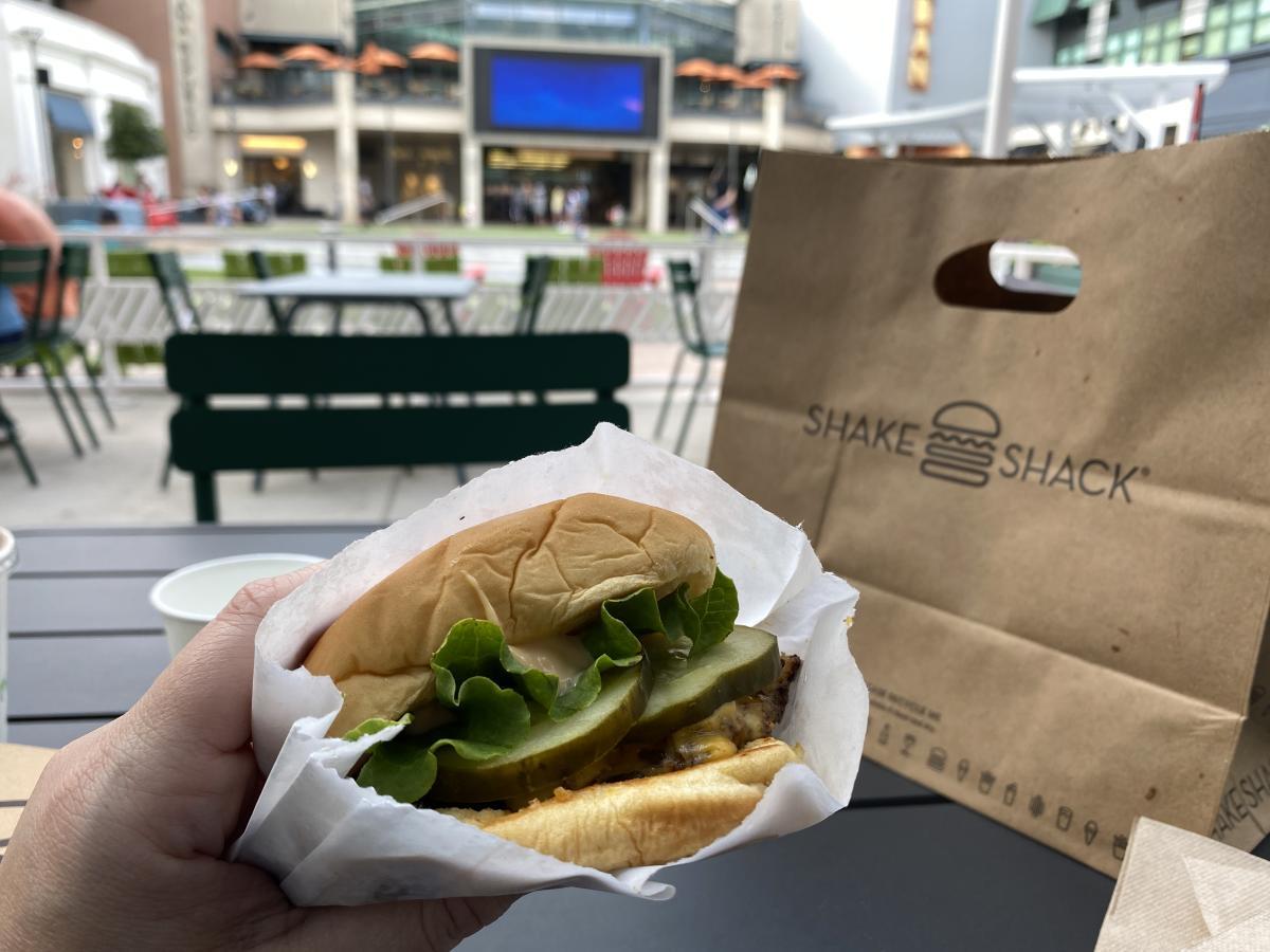 Burger from Shake Shack