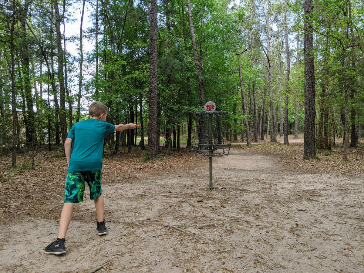 Disc Golf at Bear Branch Sportsfields
